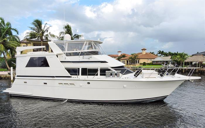 Any Excuse 52' 1998 Hatteras Sport Deck Motor Yacht