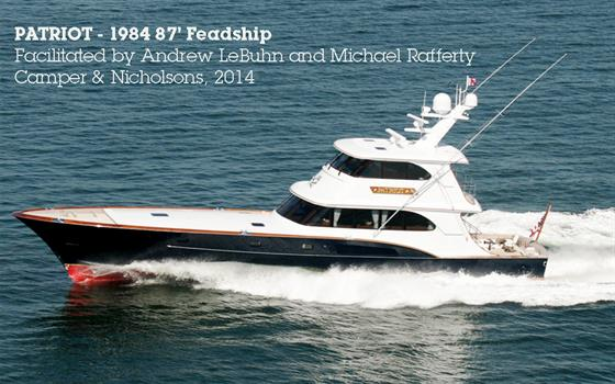 PATRIOT - 1984   87' Feadship